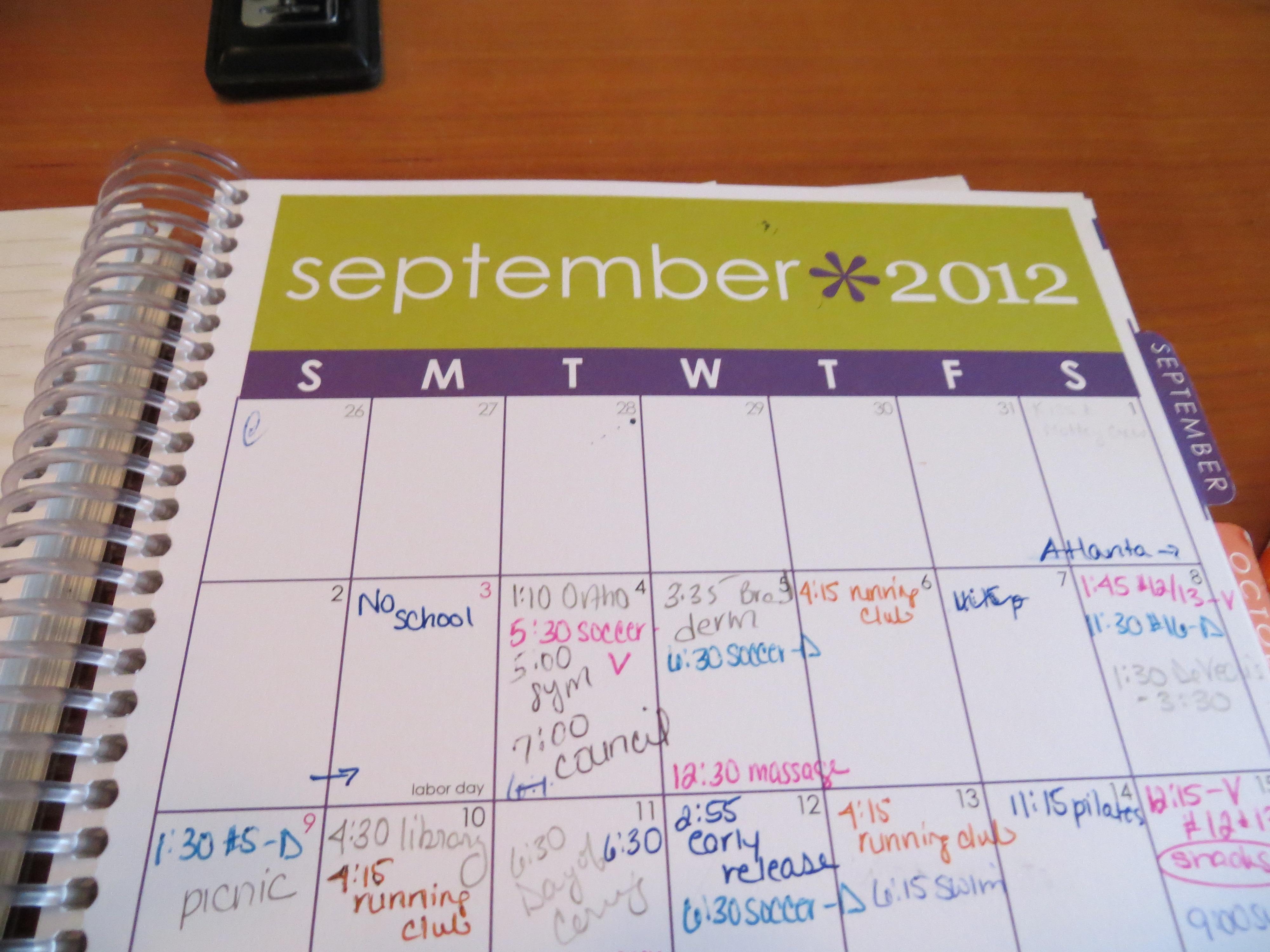 September Goals – Reviewed