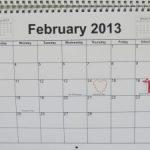 February 2013 Goals Re-cap