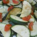 Grilled Zucchini Salsa