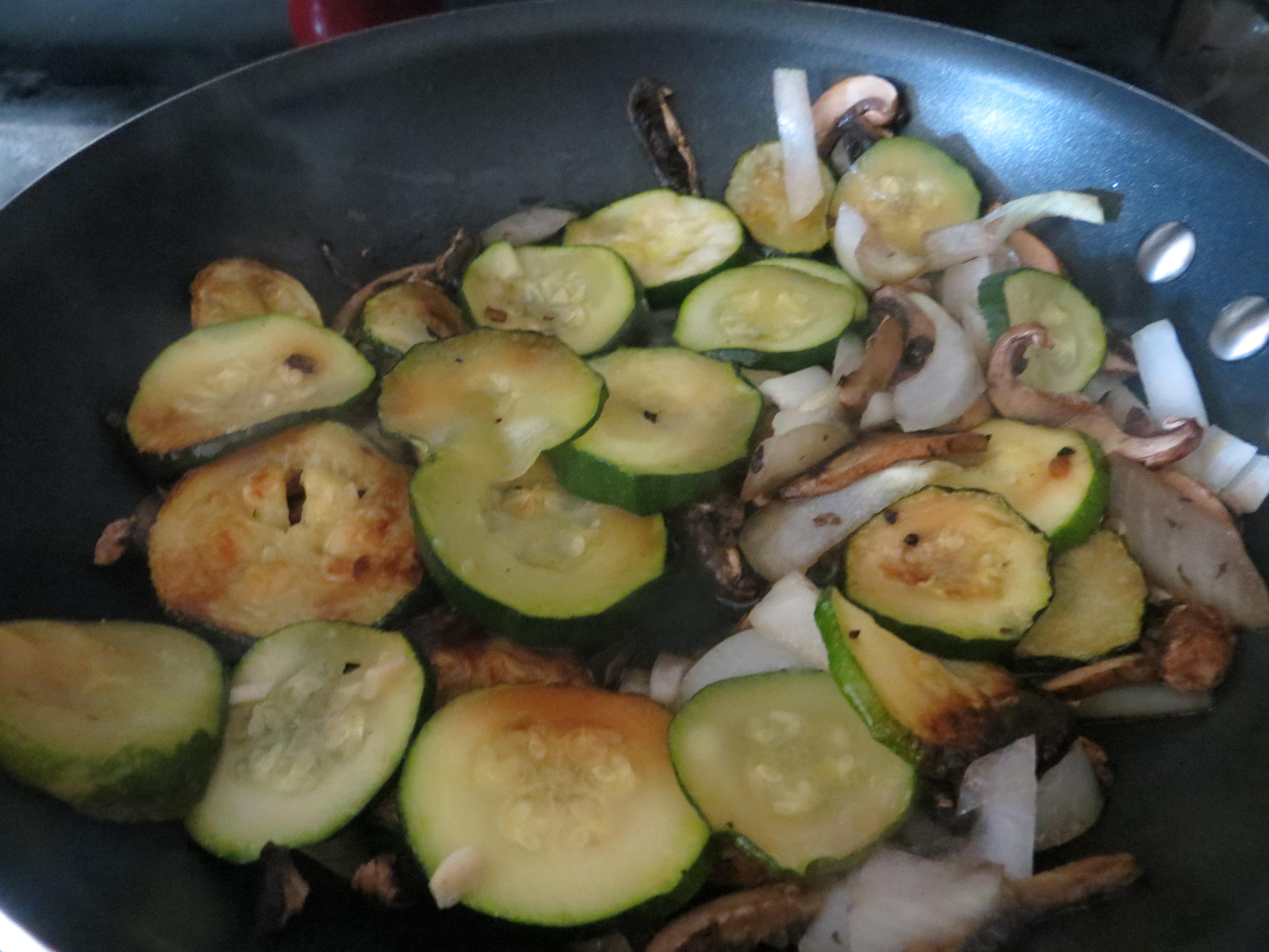 Meatless Monday dish – Mushroom Penne