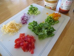 Mexican toppings