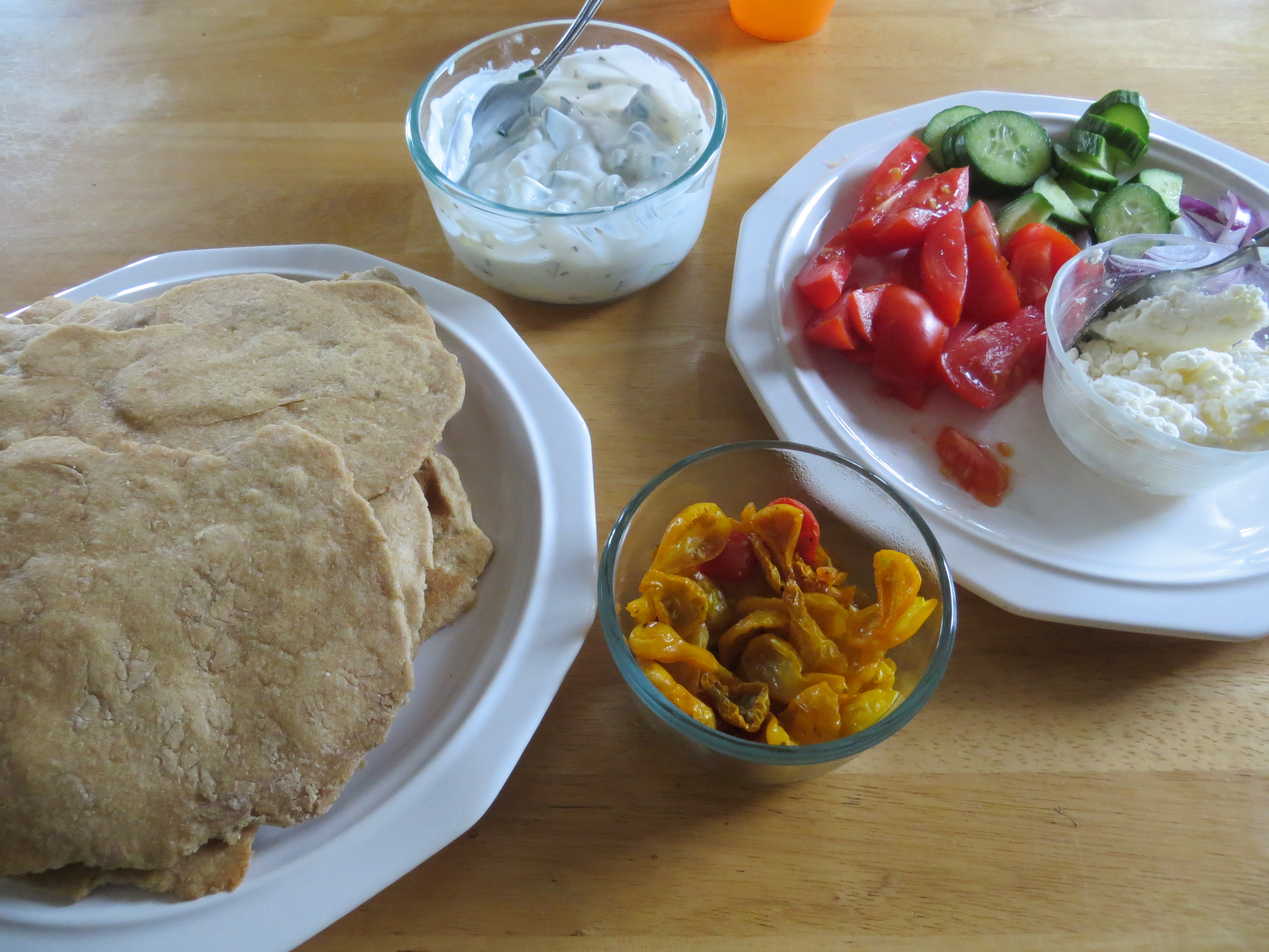 Quick and Easy Greek Inspired Week Night Meal!