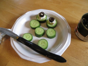 cucumber snacks