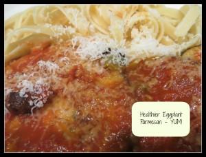 Healthier Eggplant Parm