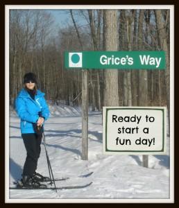 Skiing at Boyne
