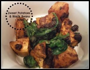 sweet potatoes black beans