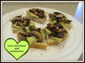 Yummy lunch - avocado toast