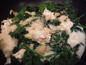 Yum - spinach