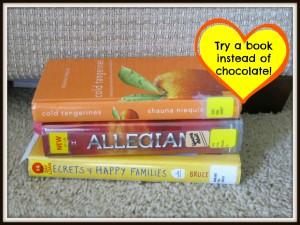 book vs chocolate
