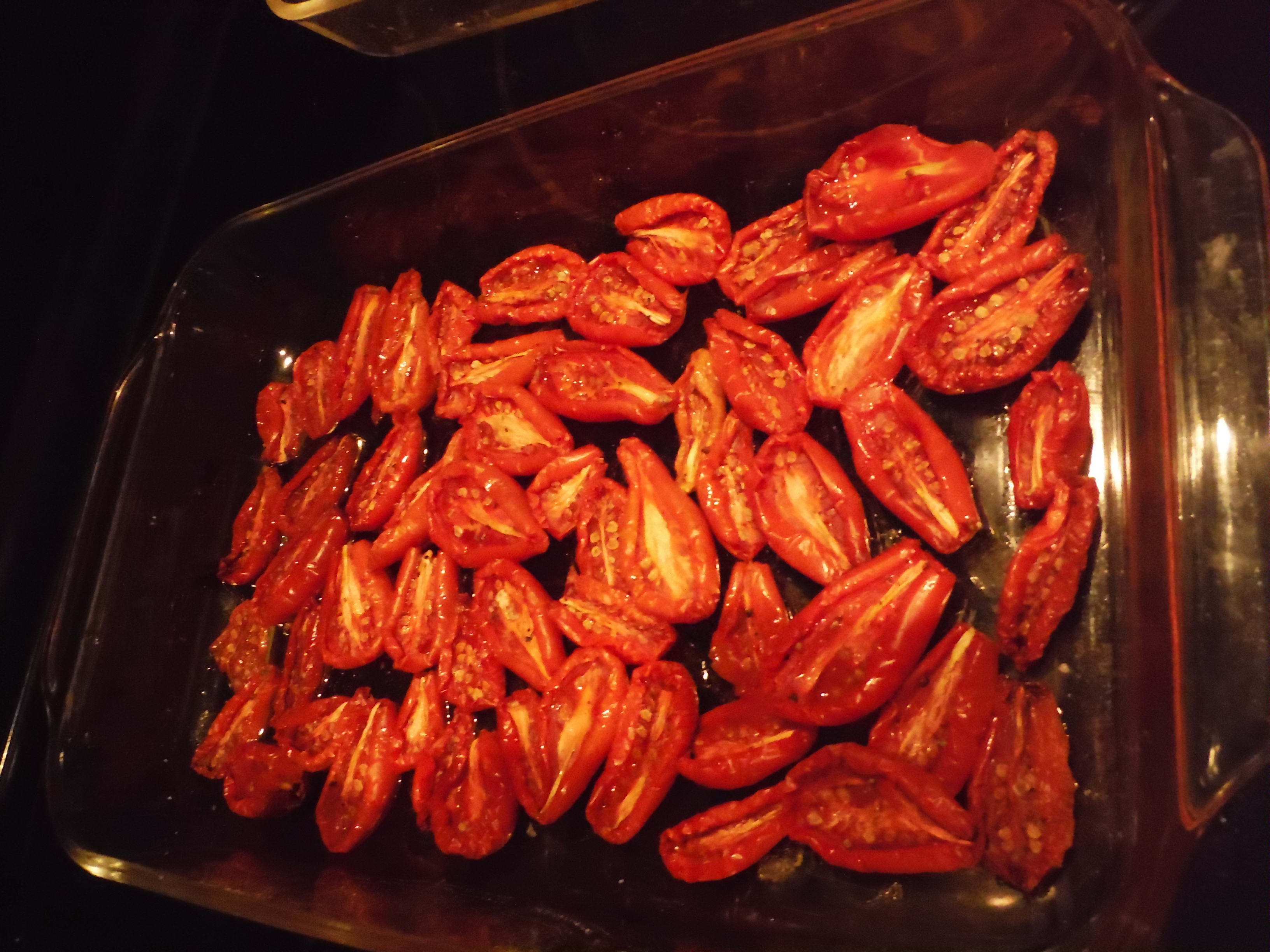 "Too many tomatoes?  Easy ""Sun-Dried Tomatoes"" to the Rescue!"