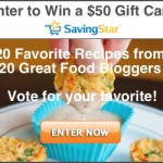 Vote for your favorite recipe and WIN!