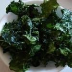 Crunchy Kale Chips!