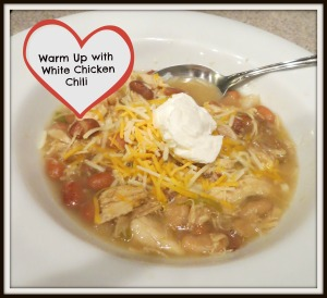 Warm up with chili