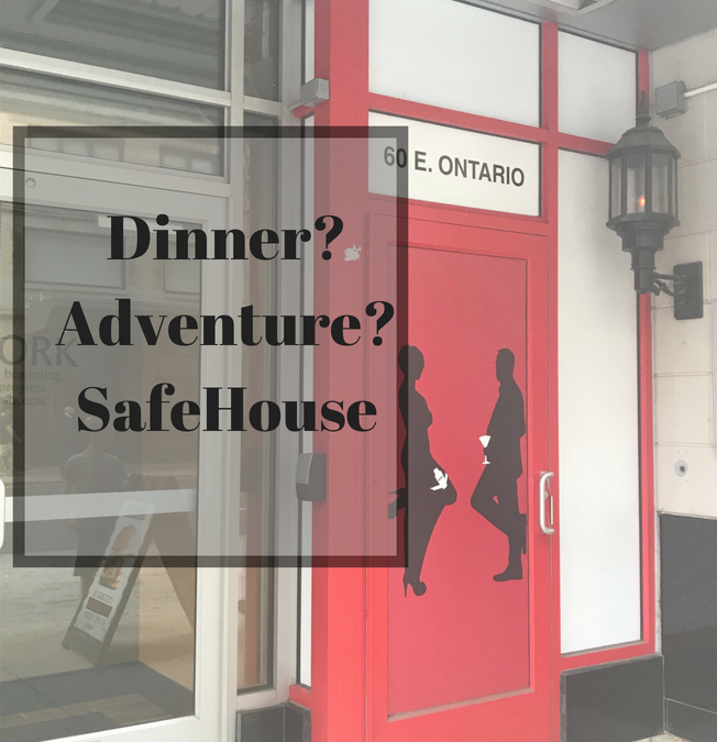 Spy-Themed Restaurant?  SAFEHOUSE!