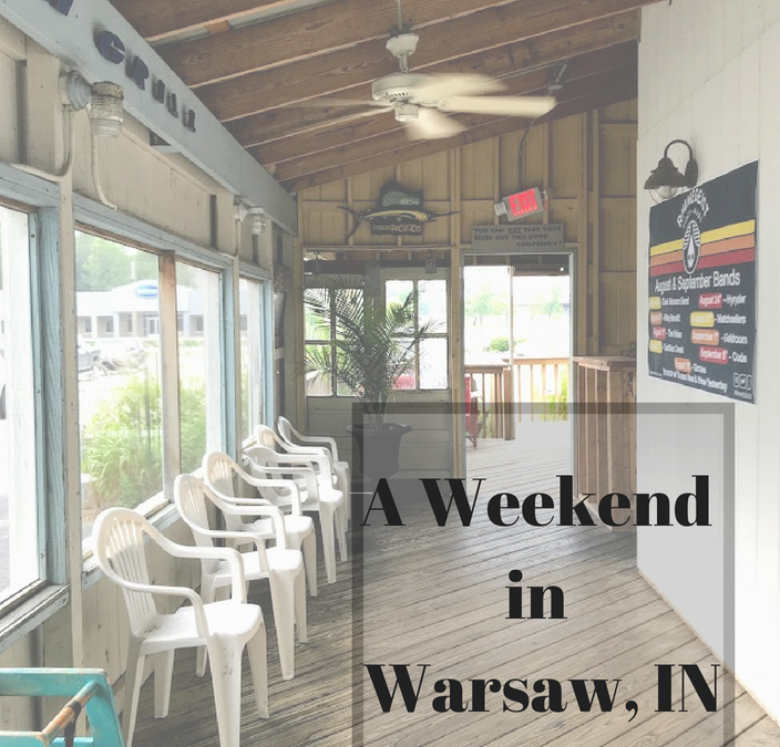What a fun start to the weekend in Warsaw, Indiana