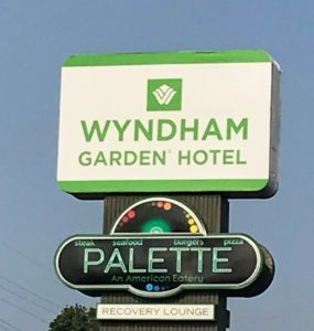 Great stay at the Wyndham Garden Hotel in Warsaw, Indiana
