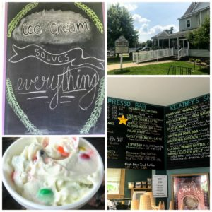 Visit Kilainey's in the Village at Winona for delicious ice cream treats.