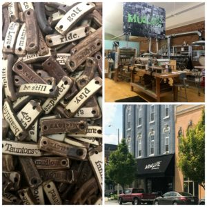 Inspirational bracelets, mugs and more at MudLove in Warsaw, Indiana.