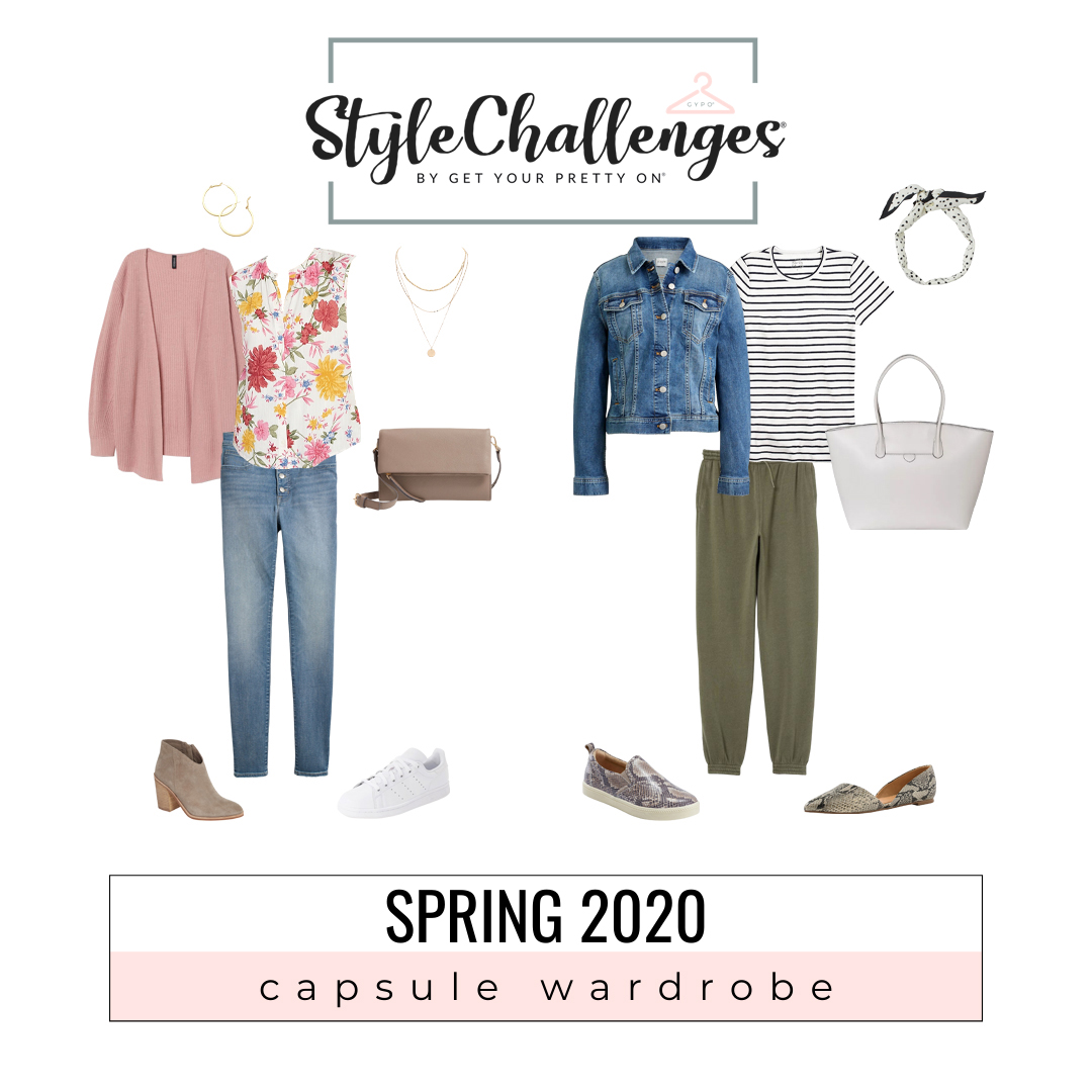 Women's fashion + Style Challenge + Capsule Wardrobe