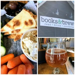 Books & Brews in Indianapolis is a perfect place to get a little work done during the day.
