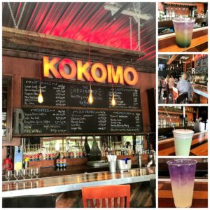 Beautiful and delicious healthy drinks at The Refinery in Kokomo, Indiana