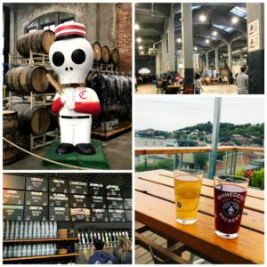 Rhinegeist brewery in Cincinnati, Ohio