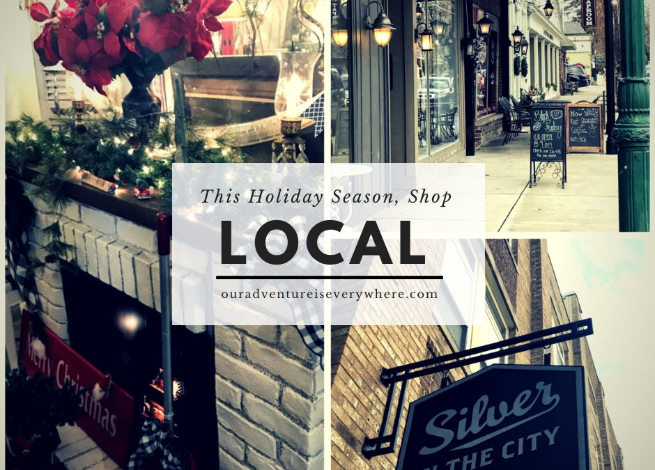 local shopping is the perfect way to spend Small Business Saturday