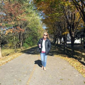 Enjoying the Monon Trail in Carmel, Indiana #shop