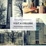 Need an afternoon adventure? Visit a college campus!
