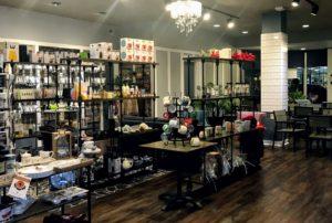 Retail section of HoiTea ToiTea in Indianapolis, Indiana