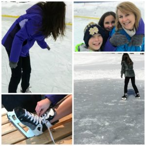 Ice skating is the perfect winter activity