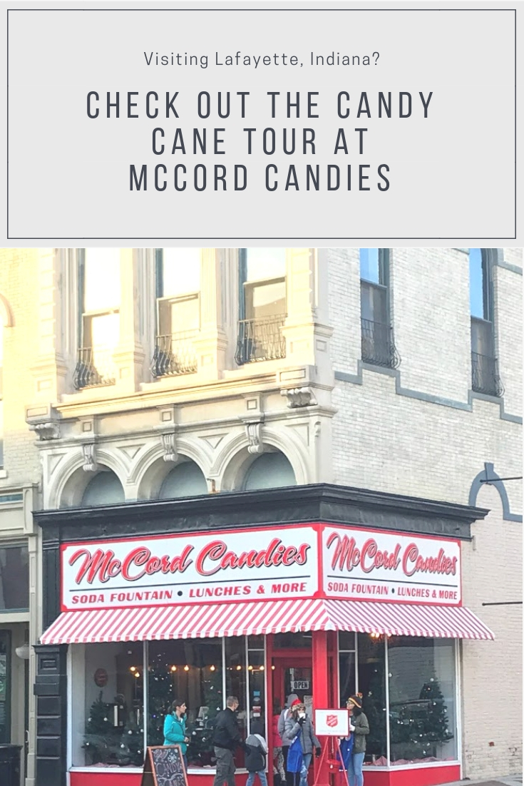 Candy Cane Tour at McCord Candies