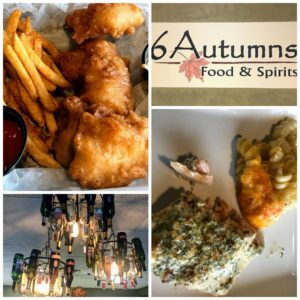 6 Autumns restaurant near Pokagon State Park in Indiana