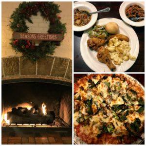 Delicious food at the Potawatomi Inn at Pokagon State Park