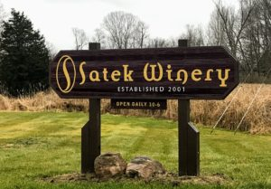 Satek Winery near Pokagon State Park in Indiana
