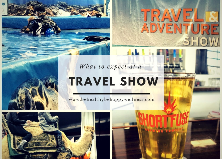 What to expect at a travel show