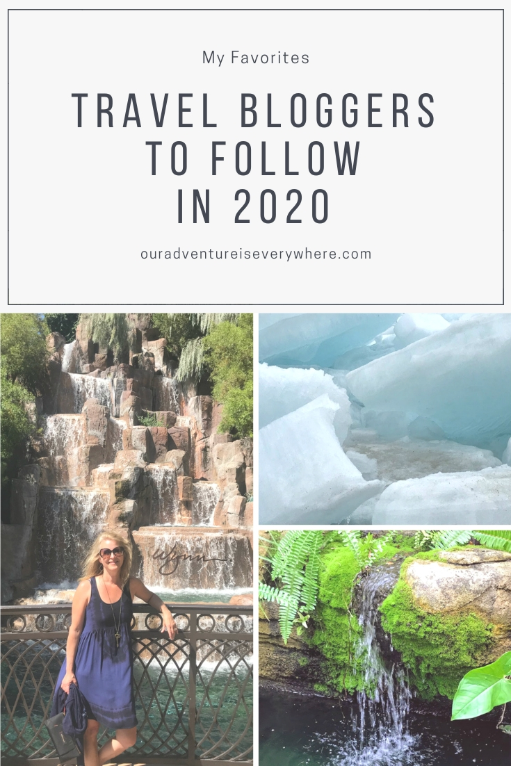 The top travel bloggers to follow in 2020. If you want travel tips, advice and inspiration, check out these fantastic blogs! #travelblogs #travel #ouradventureiseverywhere
