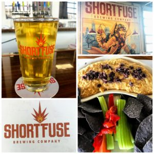 A delicious stop at Short Fuse Brewing Company in Rosemont, Illinois