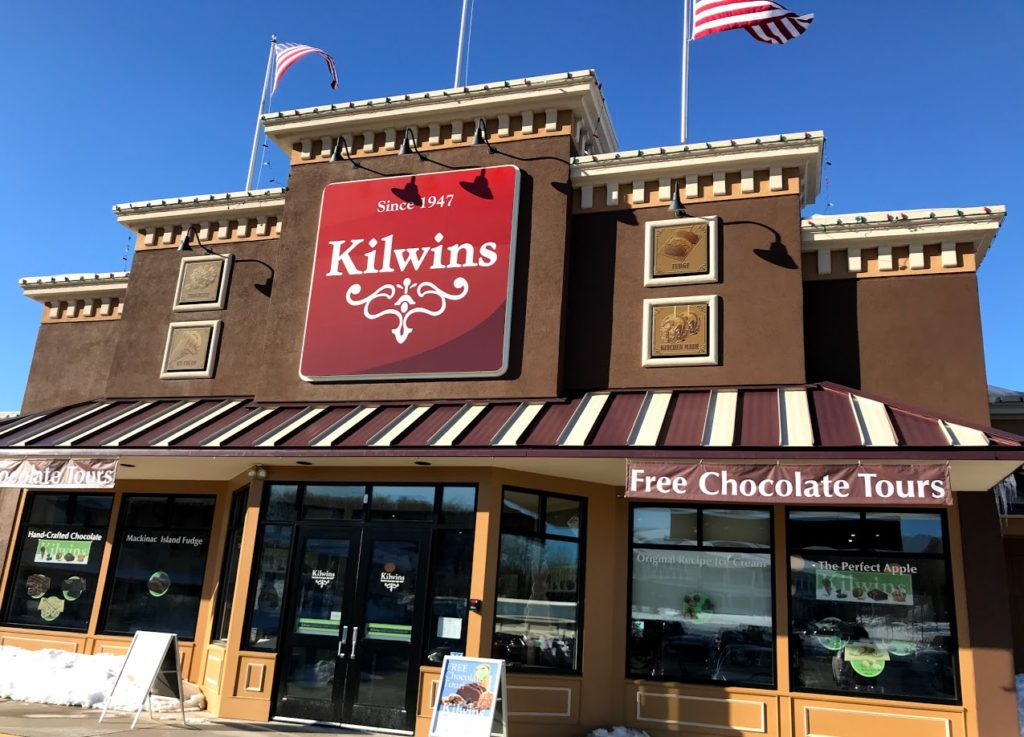 Kilwins chocolate is the BEST