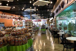 Interior of Petoskey, Michigan Kilwins store