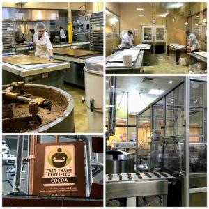 Kilwins factory tour in Petoskey, Michigan