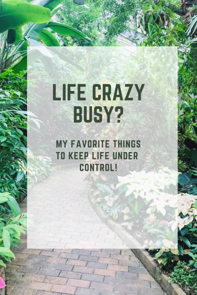 When life starts feeling really crazy busy, these are the products and services I turn to. I love all of them and use them in my daily life to help my sanity!