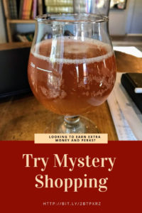 Give Mystery Shopping a try