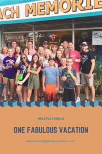 How to enjoy a vacation with multiple families