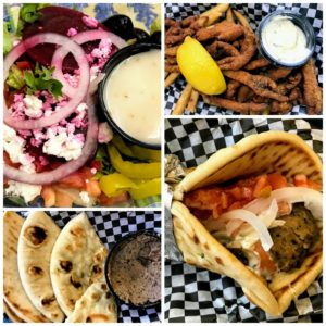 Greek treats at Mim's in Petoskey, MI