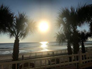 Daytona Beach, Florida sunset