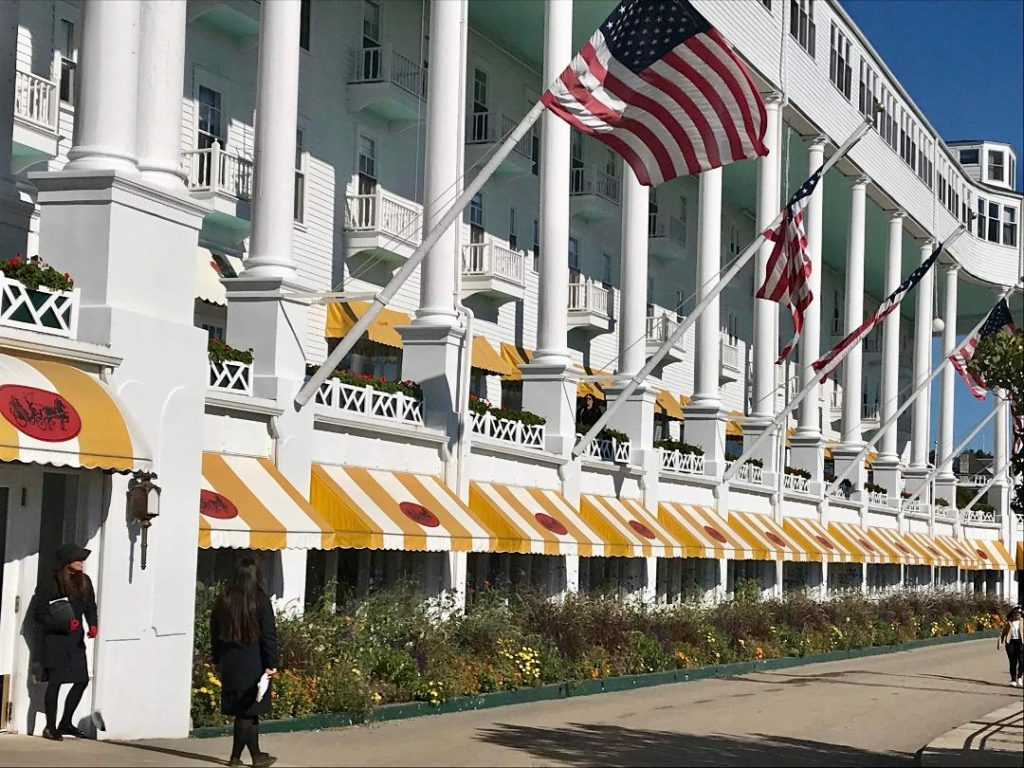 Grand Hotel on Mackinaw Island, Michigan