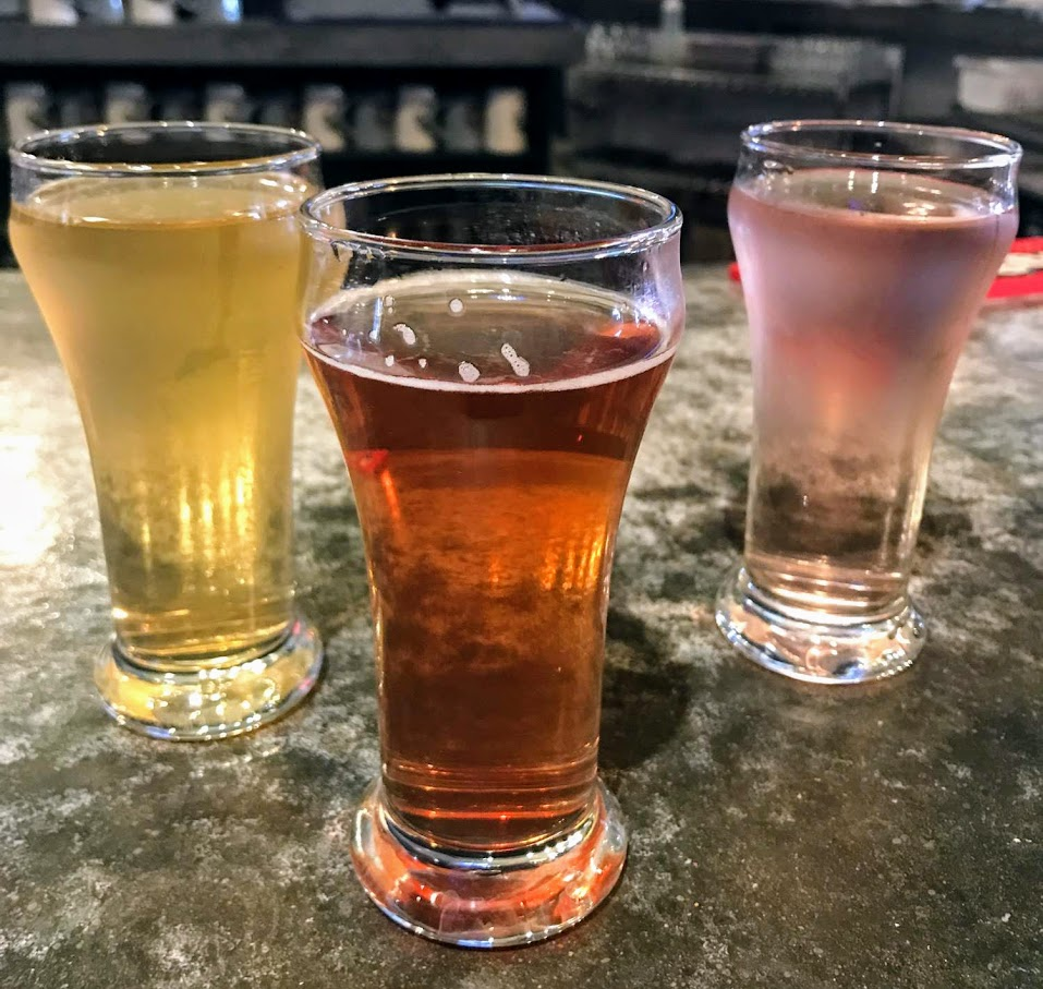 ciders are a nice option to beer