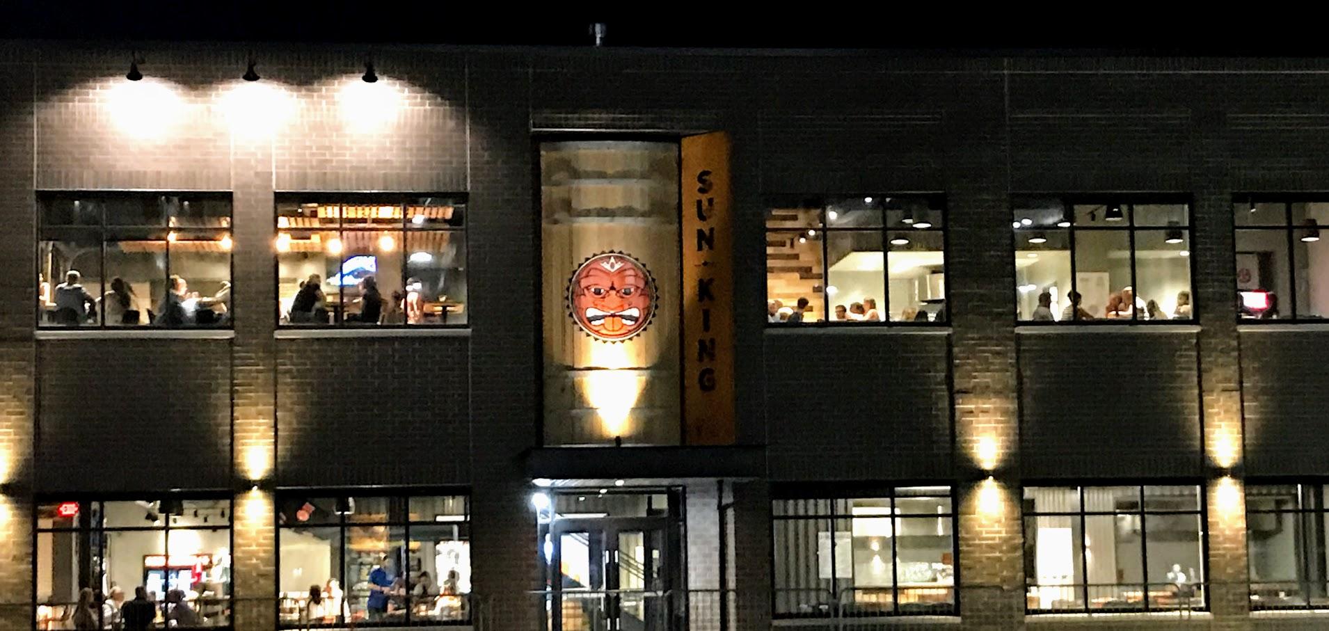 Sun King - local brewery in Carmel, IN