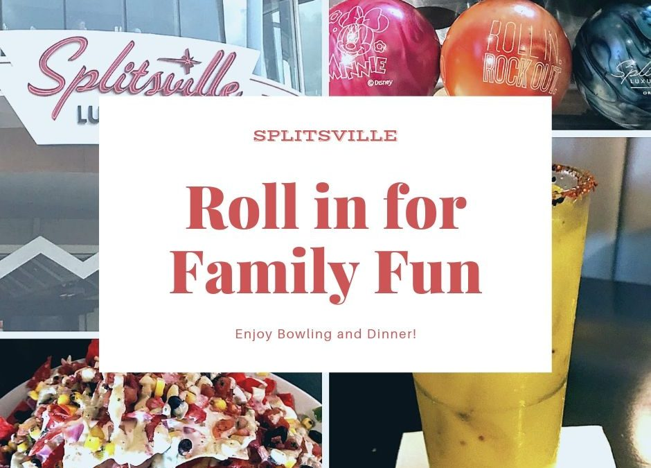Bowling and Dinner – Splitsville Style!